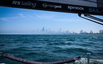 Even the fog couldn't hide the buzz around the RS21 fleet this weekend at the Chicago NOOD Regatta