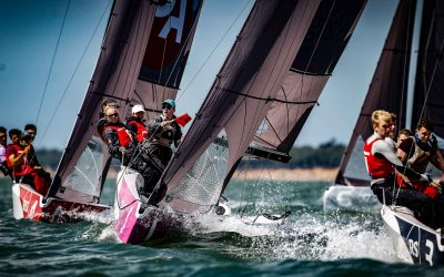 The RS21 is selected for the first time in the history of the Sailing Champions League